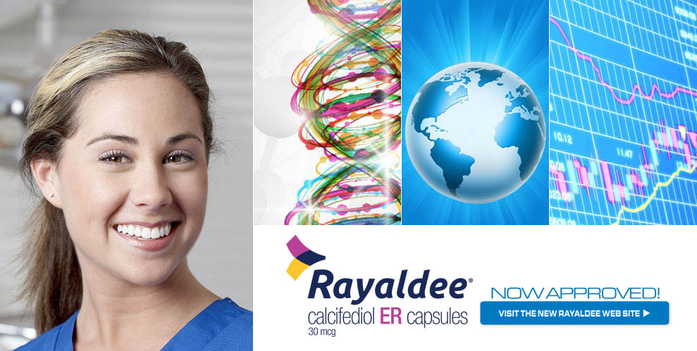 Rayaldee is now approved! Visit the new Rayaldee Web Site
